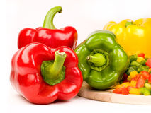 Pimientos - Peppers Stock Photography