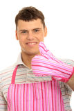 Pimk apron. Stock Photography