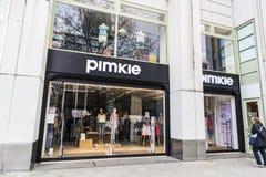 Pimkie商店在柏林,德国 库存照片