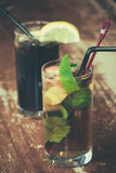 Pimm's and coke Royalty Free Stock Photography