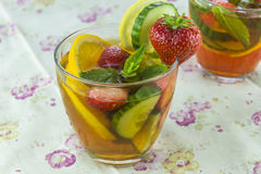 PImms with lemonade Royalty Free Stock Photo