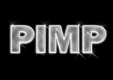 Pimp van Bling royalty-vrije stock afbeeldingen