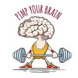 Pimp Your Brain Royalty Free Stock Photo
