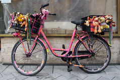 pimped bicycle Stock Photo