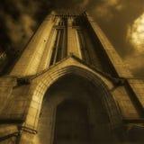 Pináculo da faculdade de Marshall em Aberdeen Imagem de Stock Royalty Free