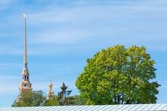 Pináculo da torre de sino fotos de stock royalty free