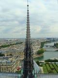 Pináculo de Notre Dame de Paris Imagem de Stock