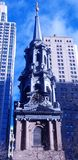 Pináculo de Saint Paul histórico & de x27; capela de s, Manhattan, New York City fotografia de stock royalty free
