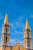 Pináculos da igreja Fotos de Stock
