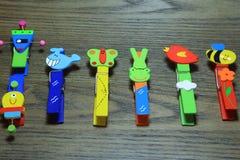 Pin шаржа Стоковые Фотографии RF