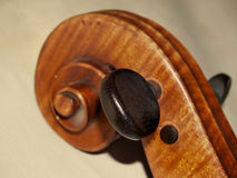 Pin. The pin of old violoncello Royalty Free Stock Photo
