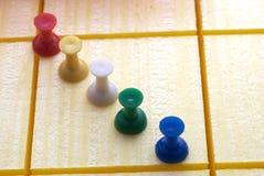 pin 3 przyj Zdjęcie Stock