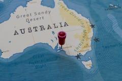 Great Sandy Desert World Map.World Map Destination Pin Australia Stock Images Download 65
