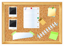 Pin board Stock Images