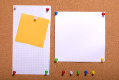 Pin board Stock Photos