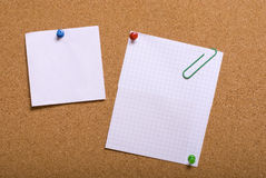 Pin board Stock Image