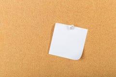 Pin board, cork board, bulletin board Royalty Free Stock Photos
