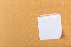 Pin board, cork board, bulletin board Stock Photography