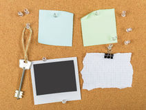 Pin board, cork board, bulletin board Royalty Free Stock Photography