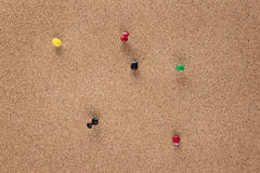 Pin board Royalty Free Stock Images