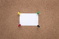 Pin board Royalty Free Stock Photos