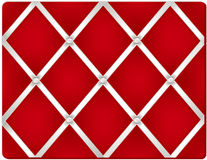 Pin Board, Red Royalty Free Stock Photos