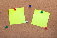 Pin board texture for background, royalty free stock photography