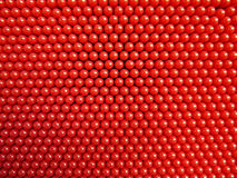 Pin board toy. Close up red plastic pin board toy Royalty Free Stock Photos