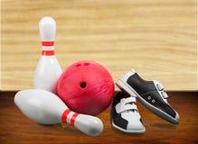 10 Pin-Bowlingspiel Lizenzfreies Stockbild