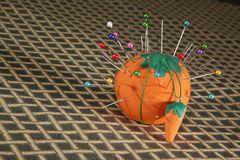 Pin cushion Stock Photo