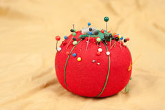 Pin cushion royalty free stock image