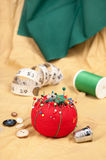 Pin cushion royalty free stock photos