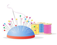Pin cushion Stock Image