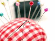 Pin-cushion Royalty Free Stock Photos
