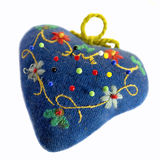 Pin cushion. Stock Image