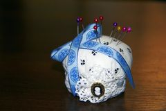 Pin cushion Stock Photography