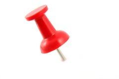 pin czerwony Obrazy Stock