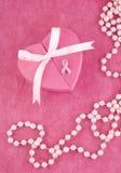 Pin da fita da consciência do cancro da mama imagem de stock royalty free