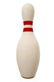 Pin de bowling Fotografía de archivo libre de regalías