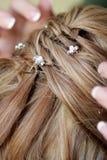 Pin de cabelo fotos de stock