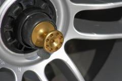 Pin de la rueda F1 fotos de archivo