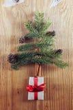 Pin de sapin de forme d'arbre de Noël image stock
