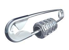 Pin de segurança Imagens de Stock