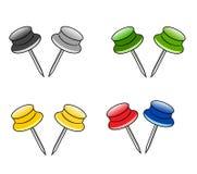 Pin del vector Foto de archivo libre de regalías