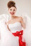 Pin encima de la novia Imagen de archivo