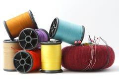 Pin et laine Image stock