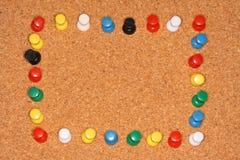 Pin-Feld Stockbild