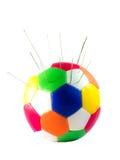 Pin-Fußball stockfotos
