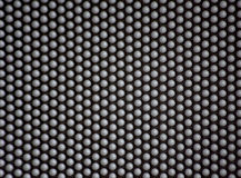 Pin-Kunst pinscreen Kontur Stockfotografie