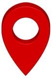Pin map icon Royalty Free Stock Image